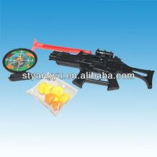 Small Plastic Gun Toy with Candy for kids
