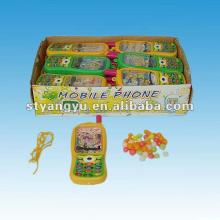 Children Plastic Maze Phone Toy with Candy