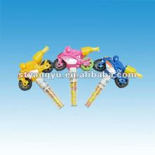 Motorcycle Toy with Candy/ Interesting Kids Plastic Motorcycle Toys With Pressed Candy