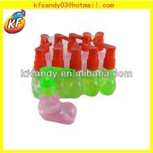 Good flavor 25ml sweet slipper shape fruit liquid spray candy flavor
