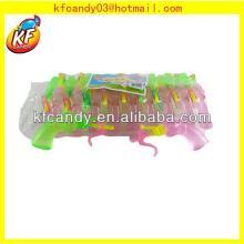 25ml Good taste plastic shooting gun shaped spray liquid candy