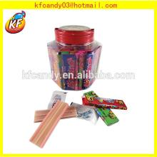 4g Plastic Bottle Bubble Gum with tattoo sticker