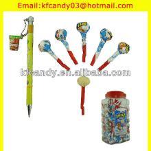 4.5g good flavor round stick whistle milk lollipop candy