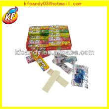 13g 5pcs High quality sweet cheap chewing  gum  with  tattoo