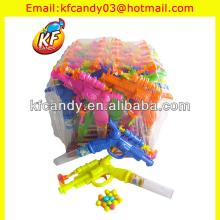 best selling mini plastic toy candy guns for kids