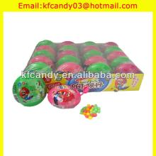 funny colorful plastic bottle with fruity tablet candy toy for promotional