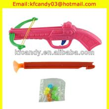 children plastic  hunting  crossbow gun toy candy