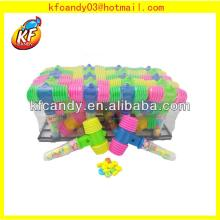 Hot selling funny kids plastic hammer toy with sound candy toys