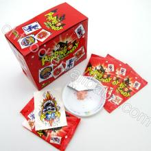 popping candy , Popping Candy With Tattoo, popping candy with 3D puzzle card