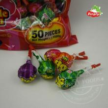 lollipop filling gum with whistle