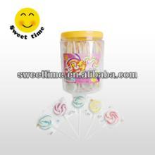 candy swirl circle arts lollipop