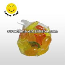 Colorful fruit shape mini fruity Jelly cup