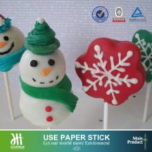 Paper sticks baking cake pop cake sticks