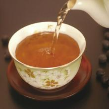 Beauty slimming tea made from Black soybean