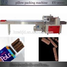 automatic chocolate bar horizontal packing machine