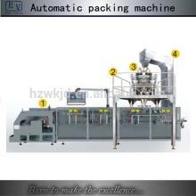 Automatic form fill seal saffron zipper bag packing machine