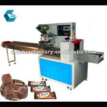 Horizontal packaging machine for chocolate bar products for Food bar packaging machine