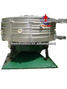 Vibrating sieving machine for black pepper