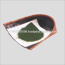 Japanese organic matcha made from green tea leaves