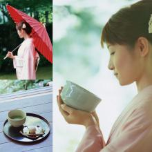 Various types of green world slimming tea made in japan