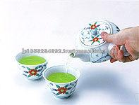 Slimming drink made of japanese healthy and delicious green tea