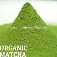 Organic Matcha powder product, Sencha and Matcha green tea products available