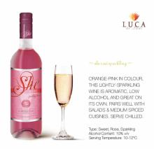 She Rose` wine
