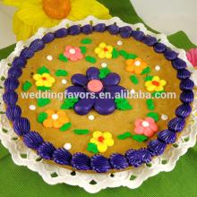 Decorated  Flower  Cookie Cake
