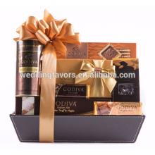 Godiva Chocolate Gold Gift Basket
