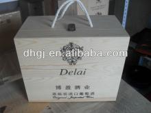 High Grade Champagne 6  Bottle   Wooden   Wine  Box