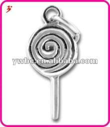 Sterling Silver Plating Lollipop Charm wholesale(H101668)