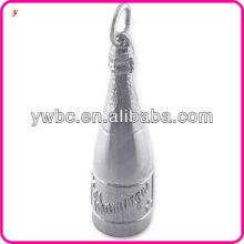 Champagne Bottle  pendant   charm  jewelry