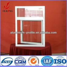 anodized finish Champagne Wood Hot sale aluminum alloy windows and doors