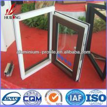 anodized finish Champagne Wood Hot sale aluminum door and window hinge