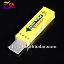 Electric shocking toy, shocking chewing gum