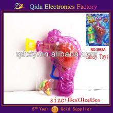 plastic pink toy candy bubble gun