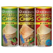 Potato chips packaging snacks