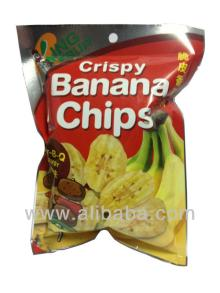 Crispy Banana Chips Bar-B-Q Flavor