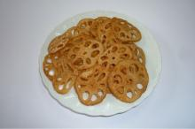 Snack foods/ Fried Lotus Root Chips
