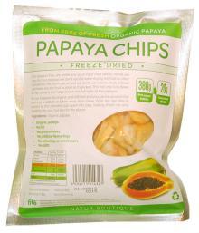 Freeze-Dried Papaya Chips