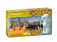 Singapore Collection Merlion Macadamia Nut Cookies