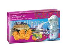 Singapore Merlion Coconut & Pineapple Cookies