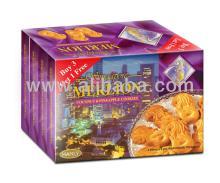 Singapore Merlion Coconut & Pineapple Cookies (3+1)