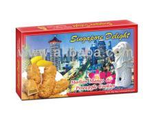 Singapore Delight: Merlion Pineapple & Mango Cookies
