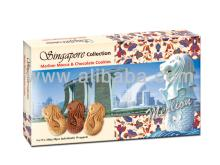 Singapore Collection Merlion Mocca & Chocolate Cookies