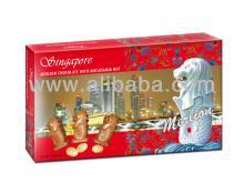 Singapore Merlion Macadamia Chocolate