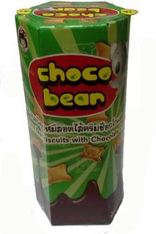 Biscuits with Chocolate Cream Choco Bear 22 g.