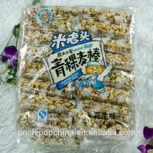 halal snack 400g highland barley (peanut flavor) wheat cracker bar