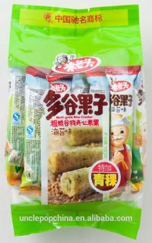 sea weeds flavor 160g crispy grain rolls