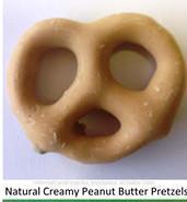 NATURAL CREAMY PEANUT BUTTER YOGURT PRETZELs